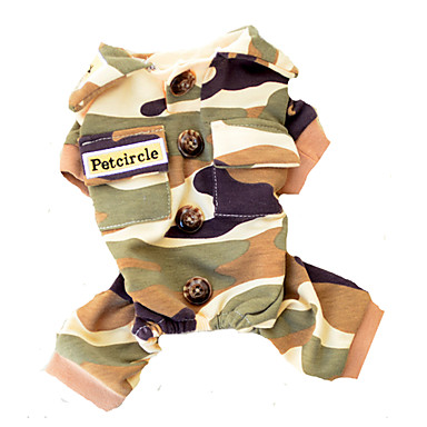Hunde Overall Camouflage Hundekleidung Winter Frühling/Herbst camuflaje Modisch
