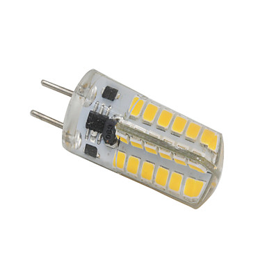 4W 350-380lm GY6.35 Luces LED de Doble Pin T 48 Cuentas LED SMD 2835 Decorativa Blanco Cálido 12V