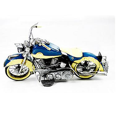 Lekebiler Actionfigurer Motorsykkel Moto Kontor / Bedrift Møbler artikler Originale Metallisk Jern Jente Barne Gave