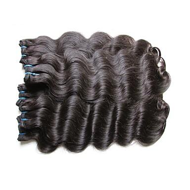 Menschenhaar spinnt Brasilianisches Haar Große Wellen 18 Monate 1 Stück Haar webt