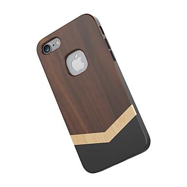 ケース 用途 iPhone 7 Apple 耐衝撃 バックカバー 木目 ハード 木製 のために iPhone 7