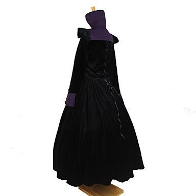 Gothic Lolita Viktoriaaninen Naisten Asut Cosplay Pitkähihainen