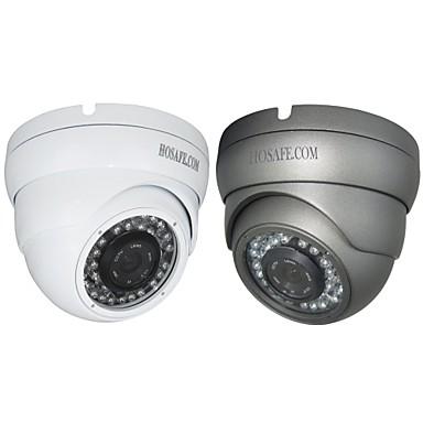 hosafe ™ dome IP kamera 1080p időjárásálló nappal este PoE (1/3 hüvelykes színes CMOS érzékelő)