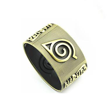 Schmuck Inspiriert von Cosplay Naruto Uzumaki Anime Cosplay Accessoires Armband Aleación Herrn Damen