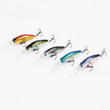 1 個 ハードベイト ミノウ ルアー ハードベイト ミノウ グラム/オンス mm インチ,硬質プラスチック 海釣り 川釣り