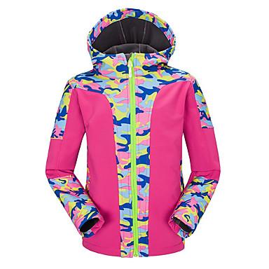 Naisten Lasten Unisex Softshell-takki vaellukseen Ulko- Vedenkestävä Pidä lämpimänä Nopea kuivuminen Tuulenkestävä Ultraviolettisäteilyn