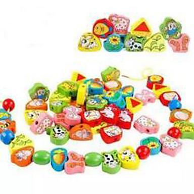 Lindert Stress Bildungsspielsachen Quadratisch Kreisförmig Holz Jungen Mädchen