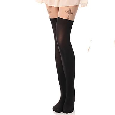 Çoraplar / Uyluk Yüksekliğinde Çoraplar Klasik / Geleneksel Lolita Lolita Eski Tiplerden Esinlenilmiş Kadın's Lolita Aksesuarları Desen /