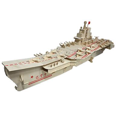 voordelige 3D-puzzels-3D-puzzels Hout Model Modelbouwsets Speeltjes Vliegdekschip Noviteit Hout Jongens Meisjes 1 Stuks