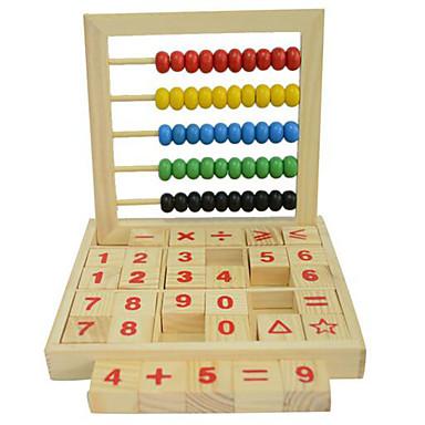 Bildungsspielsachen Spielzeugrechenbrett Freizeit Hobbys Quadratisch Holz Regenbogen Für Jungen Für Mädchen