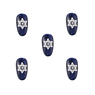 - Parmak / Ayak Parmağı / Diğer - Tırnak Takısı / Diğer Dekorasyonlar - Metal - 10 -Adet 0.9*0.9*0.2 - cm