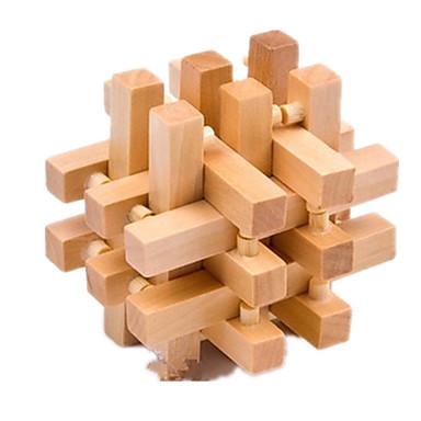 ウッドパズル 頭の体操 / 知恵の輪 木製立体パズル IQテスト ウッド 女の子 男の子 ギフト
