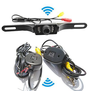 parkering assistanse systemet trådløst bil ryggekamera auto ir ccd hd baks reversere universell backup kamera vanntett nattsyn