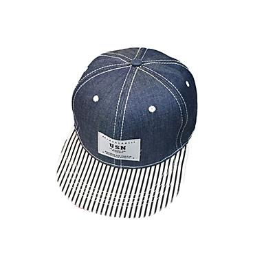帽子 キャップ 男性用 女性用 男女兼用 快適 保護 サンスクリーン のために レジャースポーツ 野球 縞柄 クラシック 春 夏