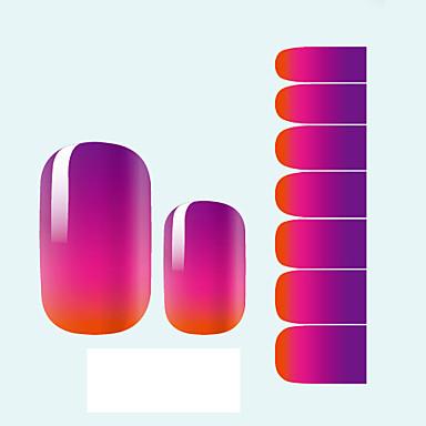 1 Autocollants 3D pour ongles Abstrait Mode Adorable Mariage Quotidien Haute qualité