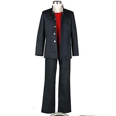 Inspiriert von Cosplay Cosplay Anime Cosplay Kostüme Cosplay Kostüme Solide Mantel Hosen T-shirt Für Herrn