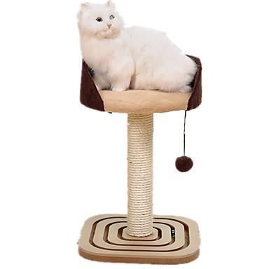 ネコ ベッド ペット用 マット/パッド カジュアル/普段着 ベージュ 織物