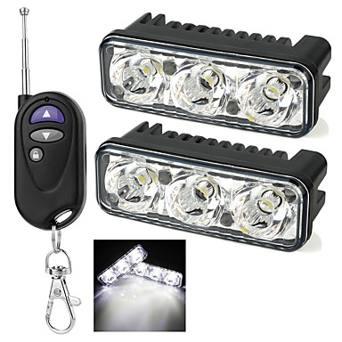 exLED 2pcs Carro Lâmpadas LED Dip LED Farol Angel Eyes de LED / Farol Angel Eyes de CCFL / Luz Anti Neblina Para