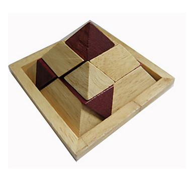 ウッドパズル 頭の体操パズル 木製立体パズル おもちゃ 三角形 IQテスト アイデアジュェリー ウッド 女の子 男の子 1 小品