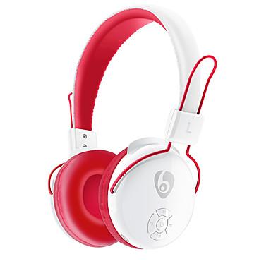 OVLENG V8-2 ヘッドホン(ヘッドバンド型)Forメディアプレーヤー/タブレット 携帯電話 コンピュータWithマイク付き DJ ボリュームコントロール FMラジオ ゲーム スポーツ ノイズキャンセ Hi-Fi 監視 Bluetooth