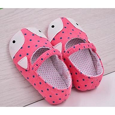 Tyttöjen Vauvat Kengät Canvas Comfort Mokkasiinit Käyttötarkoitus Kausaliteetti Harmaa Pinkki