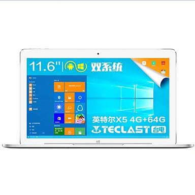 Teclast 11.6 tommer 2 i en tablett (Android 5.1 Windows 10 1280*800 Kvadro-Kjerne 4GB RAM 64GB ROM)