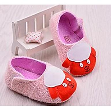 Lapset Vauvat Kengät Kangas Ensikengät Mokkasiinit Käyttötarkoitus Kausaliteetti Harmaa Pinkki
