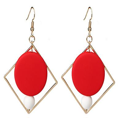 Damen Tropfen-Ohrringe Aleación Kreisform Geometrische Form Schmuck Für Hochzeit Halloween Normal