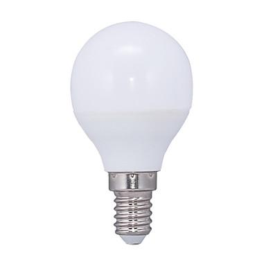 E14 LEDボール型電球 G45 14 LEDの SMD 2835 温白色 3000lm 3000KK 交流220から240V