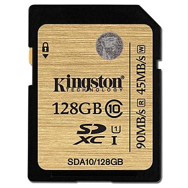 Kingston 128GB SD kortti muistikortti UHS-I U1 / Class10