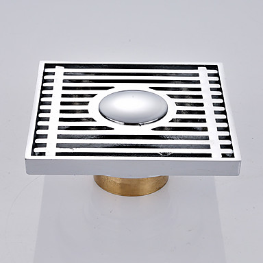 Accesorio de la grifería - Calidad superior - Moderno Latón Drenaje de piso - Terminar - Cromo