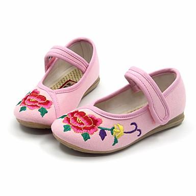 女の子 靴 繊維 春 秋 メリージェーン フラット フラットヒール ラウンドトウ 用途 カジュアル ブラック フクシャ レッド グリーン ピンク