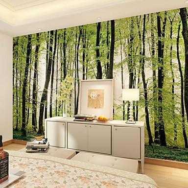 Art Deco 3D Decoração para casa Moderna Revestimento de paredes, Tela de pintura Material adesivo necessário Mural, Cobertura para