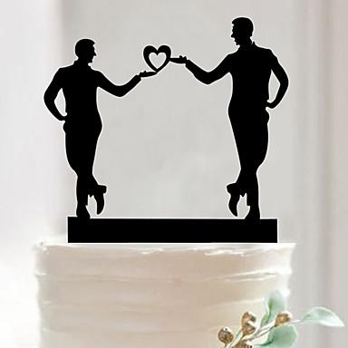 Accesorios para Pasteles Acrílico Decoraciones de la boda San Valentín Primavera / Verano / Otoño