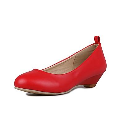 Damen Schuhe Kunstleder Frühling Sommer Herbst Gladiator Komfort Flache Schuhe Walking Flacher Absatz Runde Zehe Reißverschluss für