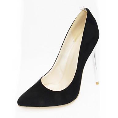 Mulheres Sapatos Couro Ecológico Courino Primavera Verão Inovador Conforto Saltos Caminhada Salto Agulha Dedo Apontado para Festas &