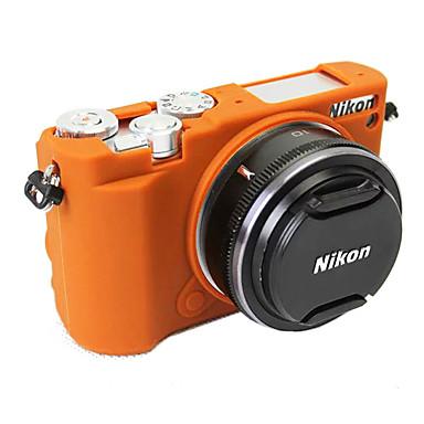 -Ein-Schulter-Schwarz Braun-Digital Kamera-Nikon-Staubdicht