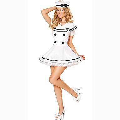 Cosplay Kostüme Party Kostüme Soldat/Krieger Karriere Kostüme Film Cosplay Kleid Hut Halloween Karneval Frau