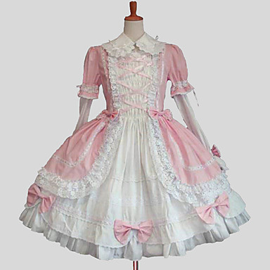 Princess Sweet Lolita Dress Women\'s Dress Cosplay Blue / Pink Ball ...