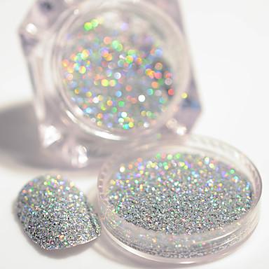 1pcs Glitter y Poudre / Polvo Glitters / Clásico Diario