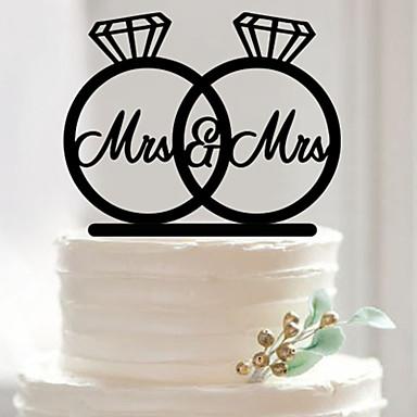 عيد ميلاد عيد الحبّ حفلة الزفاف أكريليك زينة الزفاف ربيع صيف خريف شتاء