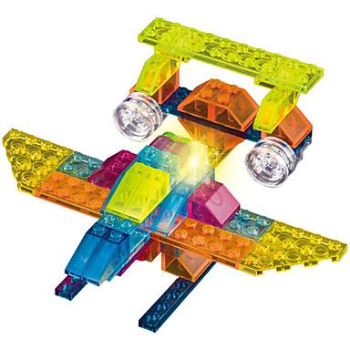 ブロックおもちゃ おもちゃ 戦闘機 点灯 LED照明 DIY ABS 男の子 女の子 73 小品