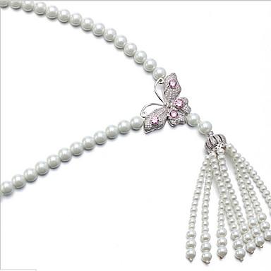 Damen Halsketten Perle Basis Luxus-Schmuck Schmuck Für Party