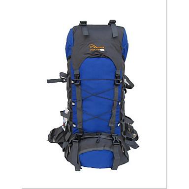55 L Rucksack Camping & Wandern Wasserdicht Nylon