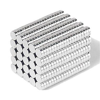 500 pcs 3*1mm Magnetiske leker Magnetisk blokk Byggeklosser Puzzle Cube Magnet Kreativ Barne / Voksne Gutt Jente Leketøy Gave