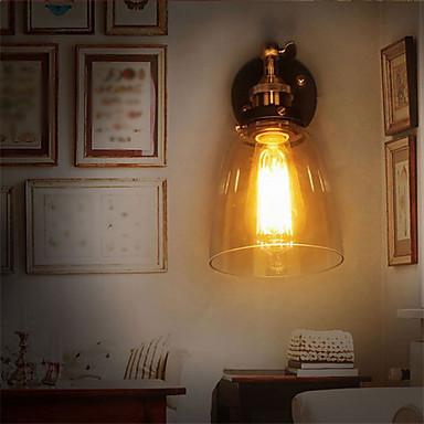 벽 빛 엠비언트 라이트 벽 램프 60W 110-120V / 220-240V E26 / E27 러스틱 / 롯지 페인팅
