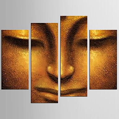 キャンバスセット 名画 抽象的な肖像画 クラシック トラディショナル,4枚 キャンバス 任意の形状 版画 壁の装飾 For ホームデコレーション