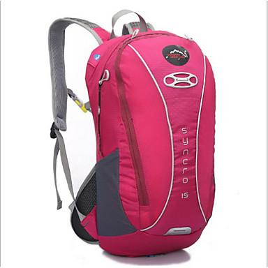 20 L Fahrrad Kofferraum Tasche/Fahrradtasche Camping & Wandern Radsport Draußen tragbar Grün Rosa Blau Orange Nylon Others