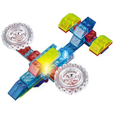 LED照明 ブロックおもちゃ おもちゃ 飛行機 戦闘機 トラック 点灯 LED照明 DIY ABS 男の子 女の子 74 小品
