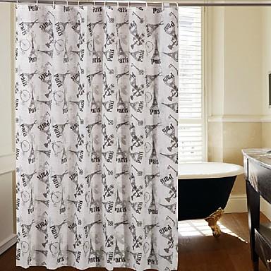 Moderni Polyesteri 180 * 180  -  Korkealaatuinen Suihkuverhot